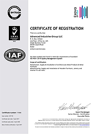 Advanced Industries Group LLC  QMS ISO 9001 2015
